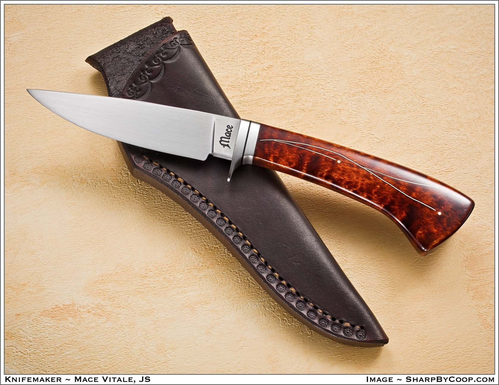 Mace Vitale – A New Knifemaker to Watch   Knives Illustrated
